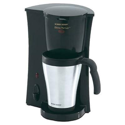DCM18S Brew 'n Go Personal Coffeemaker with Travel Mug