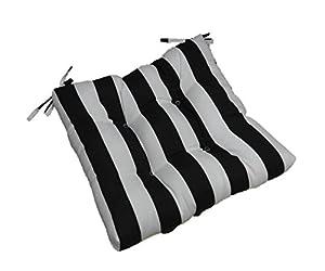 Amazon Com Indoor Outdoor Black And White Stripe
