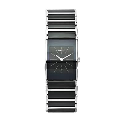 Rado Women's R20785152 Integral Black Dial Ceramic Case Watch