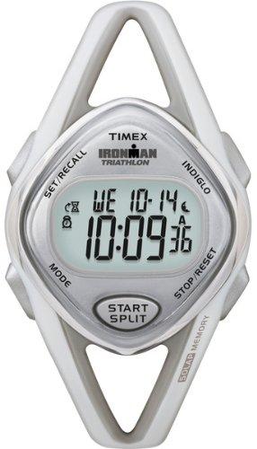 Timex Women's T5K026 Ironman Sleek 50-Lap Gray Resin Sport Watch