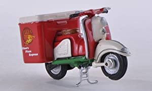 Zuendapp Bella with box wagon, Ginos Pizza , Model Car, Ready-made, Premium ClassiXXs 1:43 from Premium ClassiXXs
