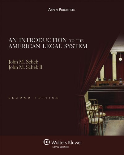 An Introduction To the American Legal System 2nd Edition