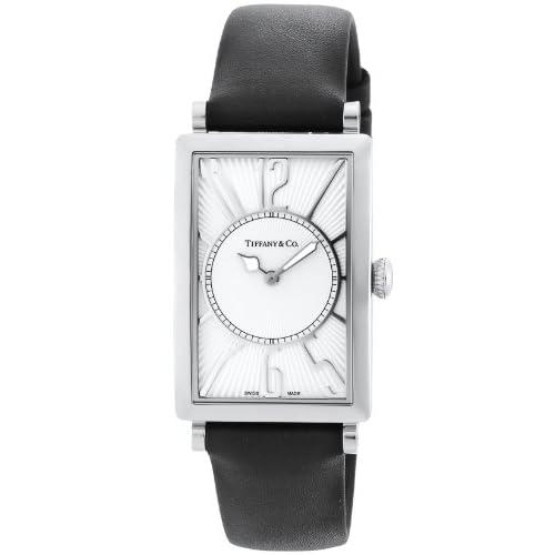 [ティファニー]Tiffany&Co. 腕時計 Gallery シルバー文字盤 Z3002.10.10A21A68A メンズ 【並行輸入品】