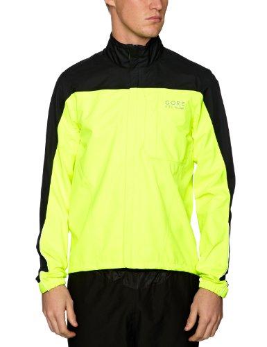 Gore Bike Wear Men's Path Gore-Tex Neon Jacket - Neon Yellow, X-Large