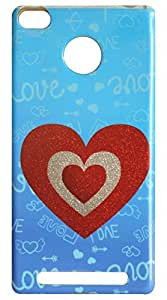 Vcare Shoppe Sparkle Effect Mobile Back case cover for Redmi 3s Prime (Sparkle Effect)