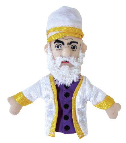 Rumi Finger Puppet and Refrigerator Magnet - By The Unemployed Philosophers Guild - 1