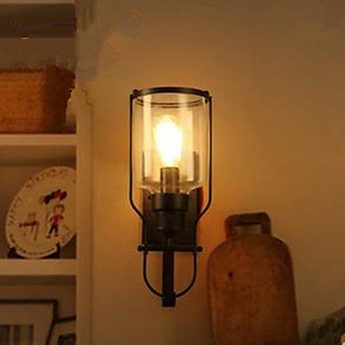 KMDJ American Retro Iron Glass Wall Lamp Wall Lamp , 220-240v