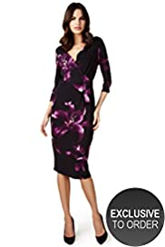 Per Una Floral Bodycon Dress with Secret Support™