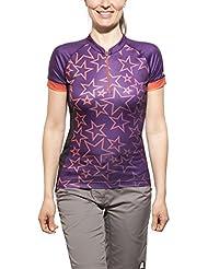 Zimtstern Sadie Downhill Jersey Ladies purple 2015