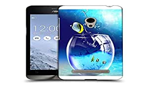 Snoogg Coloful Fish Designer Protective Back Case Cover For ASUS ZENFONE 5
