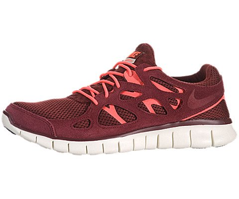 Nike Men's NIKE FREE RUN 2 RUNNING SHOES 10 Men US (TEAM RED/MORTAR/TM RED/ATMC RD)