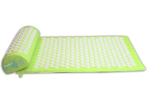 Acupressure Mat - Back Neck and Body Pain Relief - Pillow and Back Cushion for Instantly Relieving Pains - Stimulate Nerves Increase Blood Flow - Mo