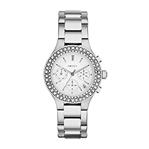 DKNY NY2258 Chronograph Silver Stainless Steel Ladies Watch