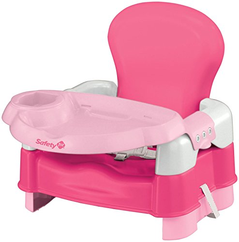Safety 1st Sit, Snack and Go 5-Mode Booster Seat, Pink - 1