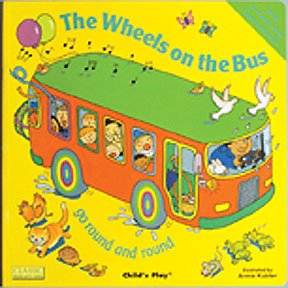 Amazon.com: Wheels On The Bus - Song & Rhyme Big Book: Toys & Games