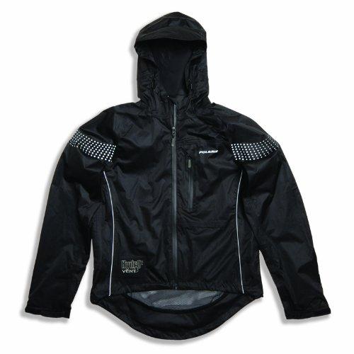 Polaris Men's Quantum Waterproof Cycling Jacket Black Large