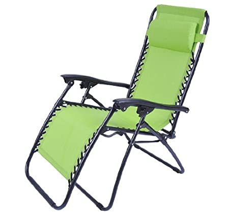 Outsunny Zero Gravity Recliner Lounge Patio Pool Chair - Lime Green at Sears.com