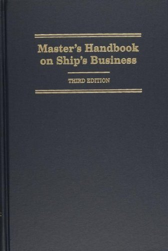 Master's Handbook on Ship's Business