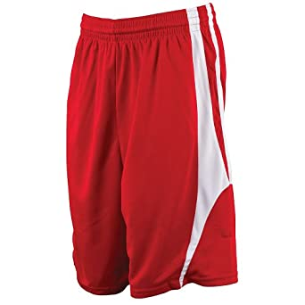 Alleson Athletic Adult Unisex Reversible Basketball Shorts by Alleson Athletic
