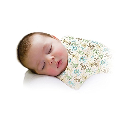 Summer Infant Swaddleme Adjustable Infant Wrap, Uni Monkey Fun - Large zipower pm 5147