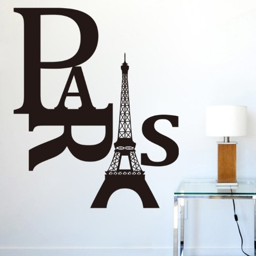 Eiffel Tower Room Decor