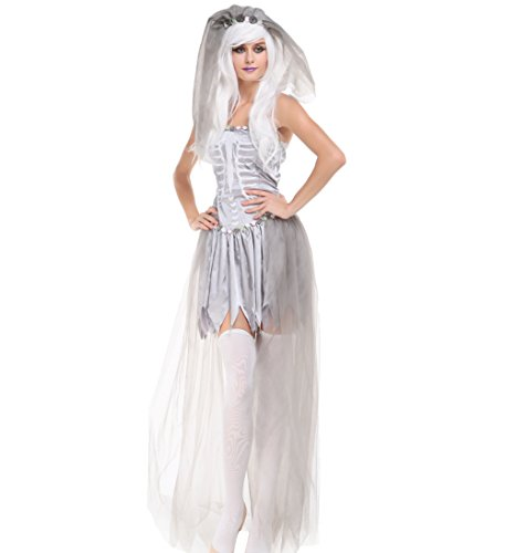 Blues Outfit Halloween Costume Adult Ghost Spirit Costume