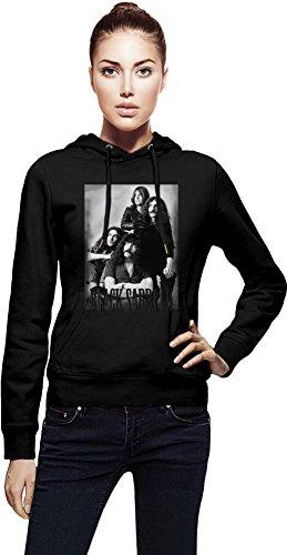 Vintage Black Sabbath Photography Cappuccio da donna Women Jacket with Hoodie Stylish Fashion Fit Custom Apparel By Genuine Fan Merchandise Large