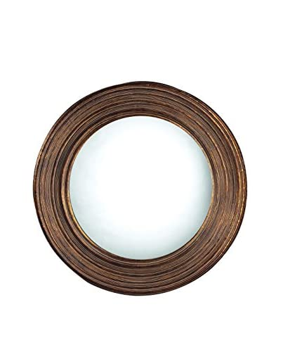 Artistic Lighting Oswego Beveled Mirror, Antique Copper
