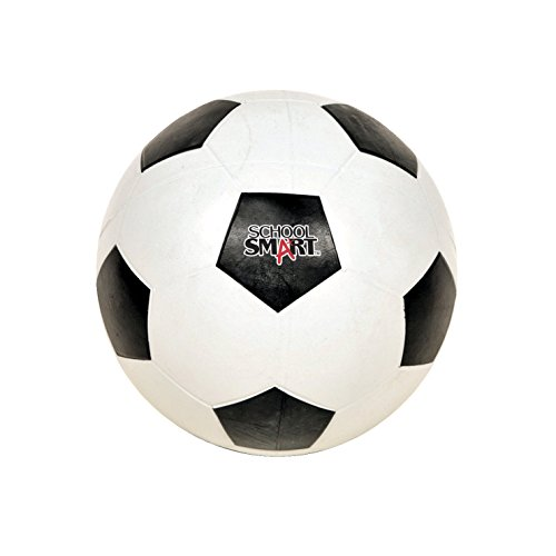 School Smart Rubber Soccerballs Size 4 Recommended for ages 9 12.