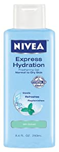 Nivea Express Hydration Body Gel, 8.4-Ounce (Pack of 2)