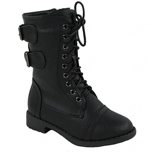 lucky-top-pack-72k-girls-military-lace-up-mid-calf-boot-black-11
