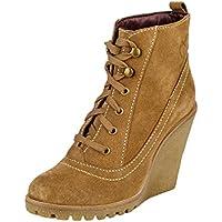 Delize Tan Women's Casual Boots 6 UK