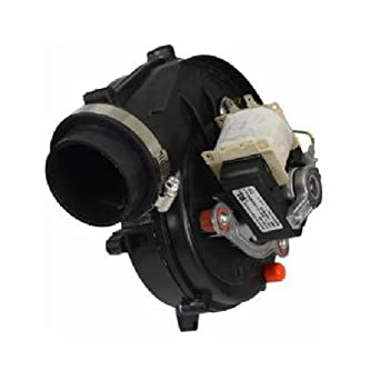 B4833000 goodman furnace draft inducer exhaust vent for Furnace inducer motor replacement