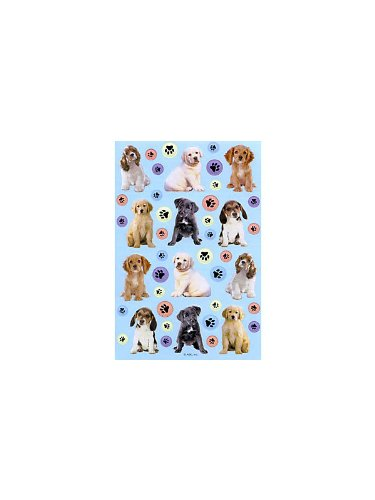 Puppy Party Stickers (2 sheets)