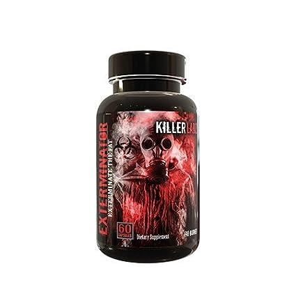 Killer Labz Exterminator 60 Caps Fatburner - Diät Fettverbrennung