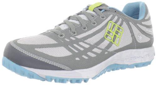 Columbia Women's Conspiracy Outdry Trail Shoe,Cool Grey/Fresh Kiwi,9.5 M US