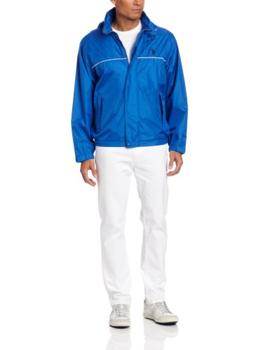 41obJTTZyQL U.S. Polo Assn. Mens Core Windbreaker With Piping, China Blue, Medium