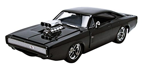 Jada Toys 97059bk - Modellino di Dodge Charger R/T, dal film Fast And Furious 7, scala 1:24
