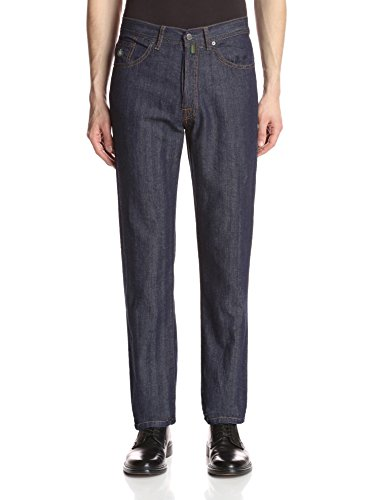 Luigi Borrelli Men's Herringbone Jeans