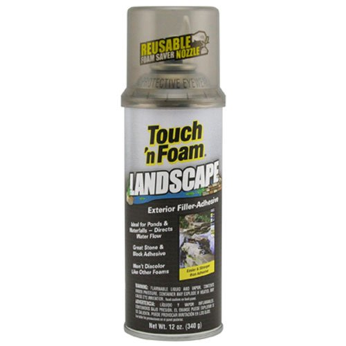 Touch 'n Foam 4001141212 Landscape Exterior Filler, Adhesive (Pond Sealer compare prices)