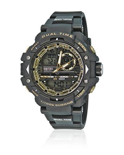Nautec No Limit Reloj Zephyr Ad Zp Qz-Ad/Pcbkpcbkgd-Bk Negro 48 mm