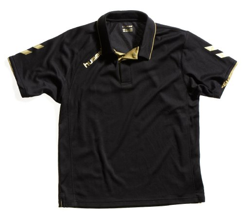 Hummel Technical Gold, Polo, Nero, S
