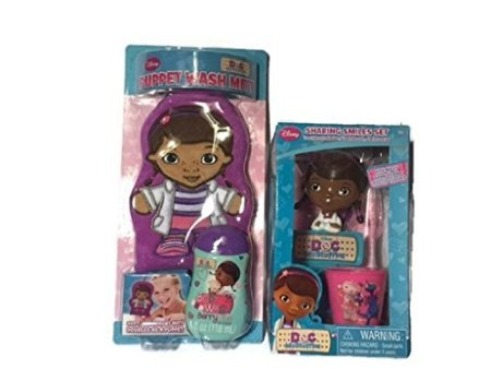 Doc McStuffins Sharing Smiles Set and Puppet Wash Mitt Bundle - 1