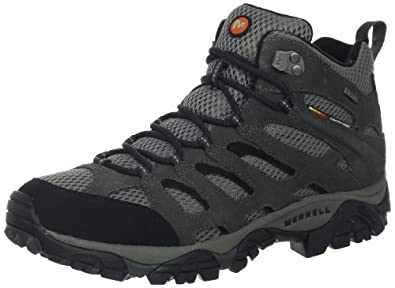 Buy Merrell Mens Moab Mid Waterproof Multisport Shoe by Merrell