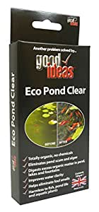 Good Ideas Pond Cleaner Eco Pond Clear 1239 Cleans Algae Blanket Weed Scum And Duckweed