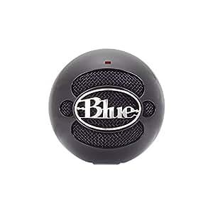 Blue Microphones Snowball Omnidirectional/Cardioid USB Microphone - Black