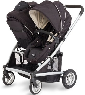 Valco Baby 2012 Spark Duo Stroller Black Out Car Seat