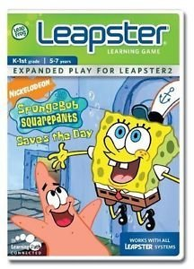 LeapFrog Leapster Learning Game SpongeBob SquarePants Saves the Day