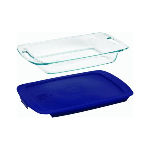 Pyrex Dish With Lid Oblong 9