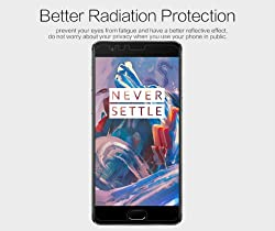 Nillkin Screen Guard for OnePlus 3 One Plus 3 (1+3) Whole Set Version Matte Anti Glare Front + Clear Back